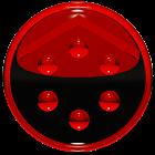 Smart Launcher GSLTHEME vermel icon
