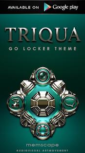TRIQUA Luxury Clock Widget - screenshot thumbnail
