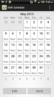 Shift Calendar (since 2013)- screenshot thumbnail