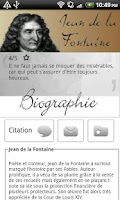 Screenshot of Jean de la fontaine