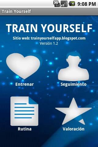 Train Yourself - screenshot
