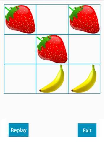 Tic Tac Toe Fruity