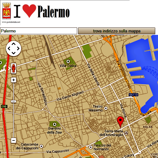 Palermo map