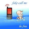 Fake-Call Me Pro – Xmas Santa logo