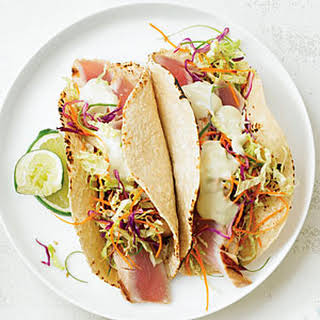 Japanese Fish Tacos.