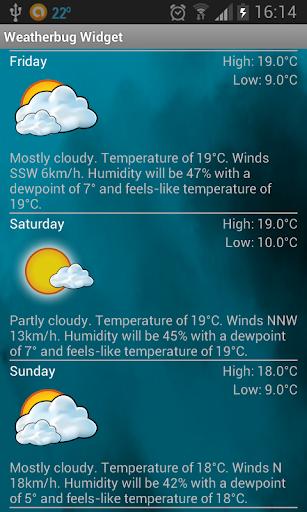 玩免費天氣APP|下載Weather Widget app不用錢|硬是要APP