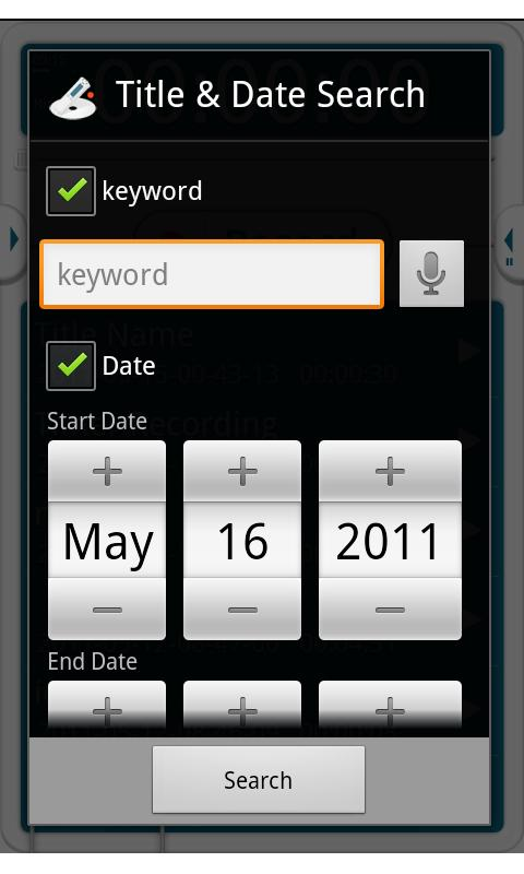 VoiceRecorder Pro - screenshot