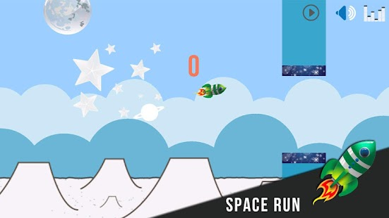 Flappy Rocket - Space Run- screenshot thumbnail