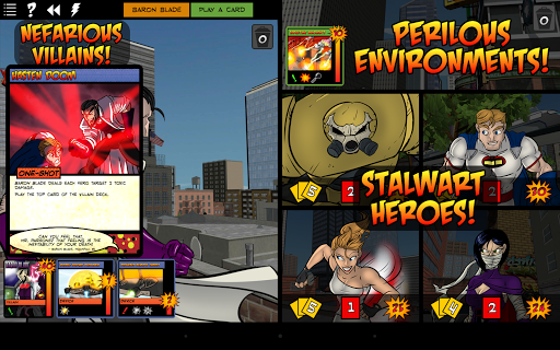 Sentinels of the Multiverse game for Android screenshot