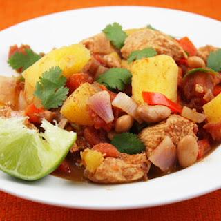 Acorn Squash and Chicken Chili.