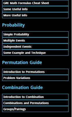 GRE Math Prep - screenshot