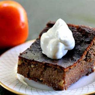 Persimmon Pudding Cake.