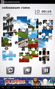 Italy & Greece Puzzles - FREE - screenshot thumbnail