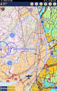 Svenska VFR Kartan - screenshot thumbnail