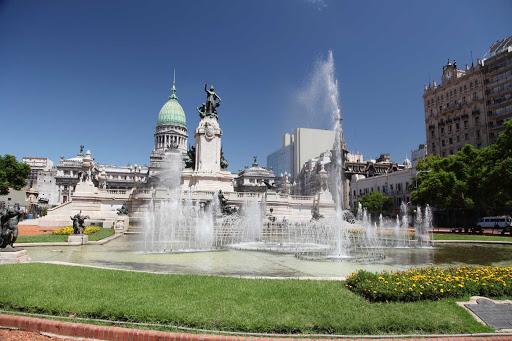 Palacio-Buenos-Aires - Palacio del Congreso in Buenos Aires, Argentina.