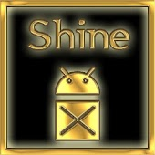Shine Theme GOLD: Go Launcher