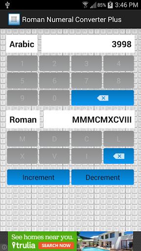 Roman Numeral Converter Plus