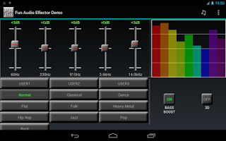 Screenshot of Fun Audio Effector (Demo)