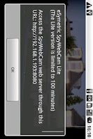Screenshot of eSymetric SpyWebCam Standard