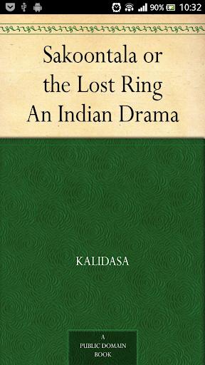 The Lost Ring Sakoontala
