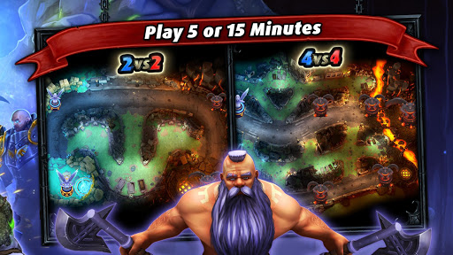 Heroes of SoulCraft - MOBA  screenshots 13