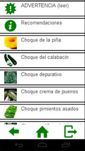Dietas de choque|玩健康App免費|玩APPs