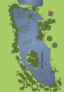 carp lake maps - Carp Fishing - screenshot thumbnail