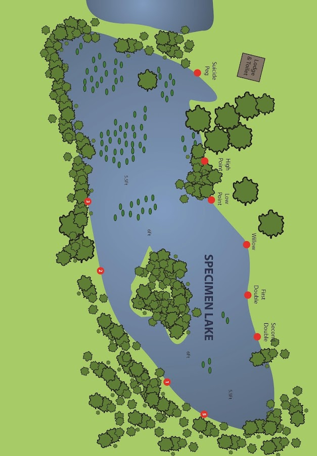 carp lake maps - Carp Fishing- screenshot