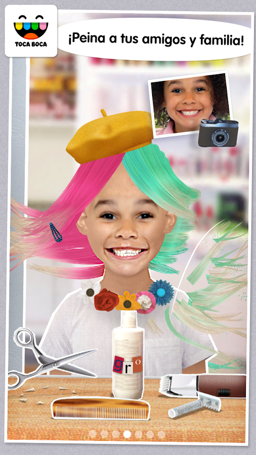 toca hair salon me aplicaciones android en google play