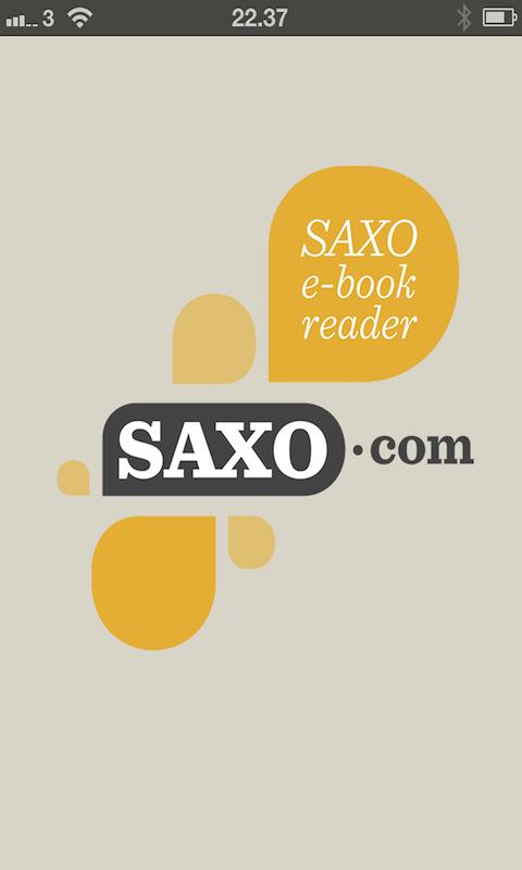 Saxo Reader - screenshot