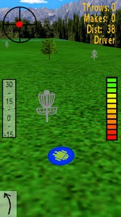 Droid Disc Golf - screenshot thumbnail