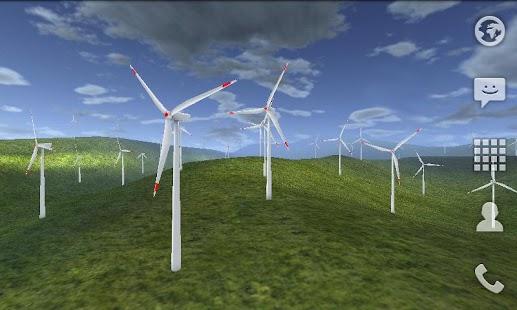 Wind Turbines 3D Live Wallpaper Free- screenshot thumbnail