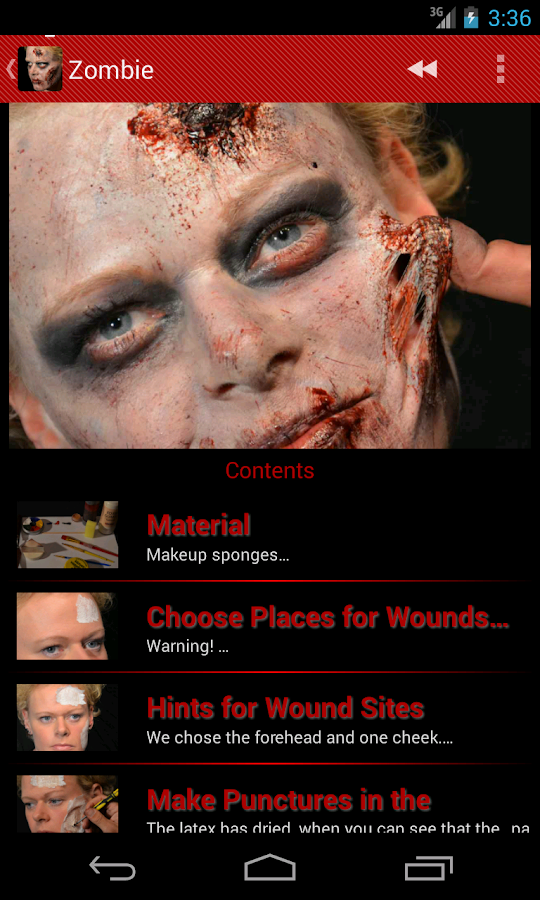 Halloween Horror Makeup Free - Android Apps on Google Play