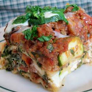 Lori's Spicy Chipotle Lasagna.