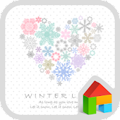 Winter love Dodol Theme