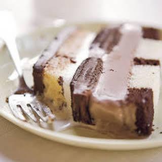 Triple Chocolate Ice Cream Cake.