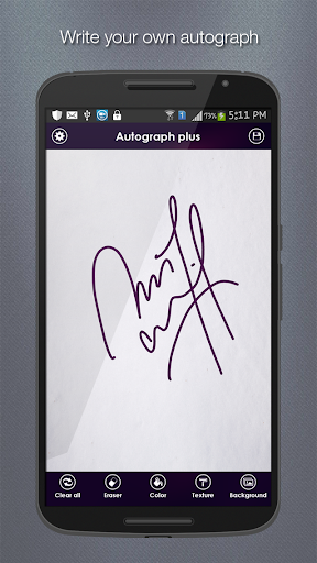 Autograph+ - Hand drawing