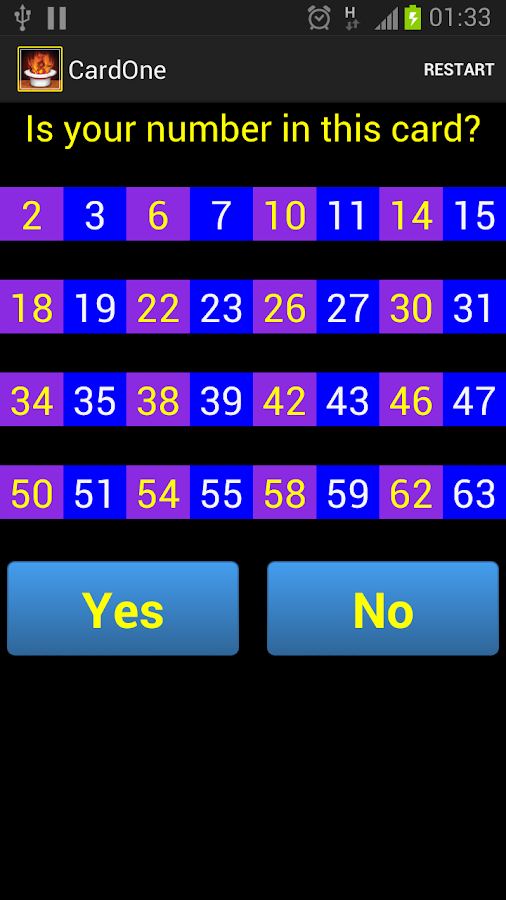 MathTrix or Math Tricks - screenshot