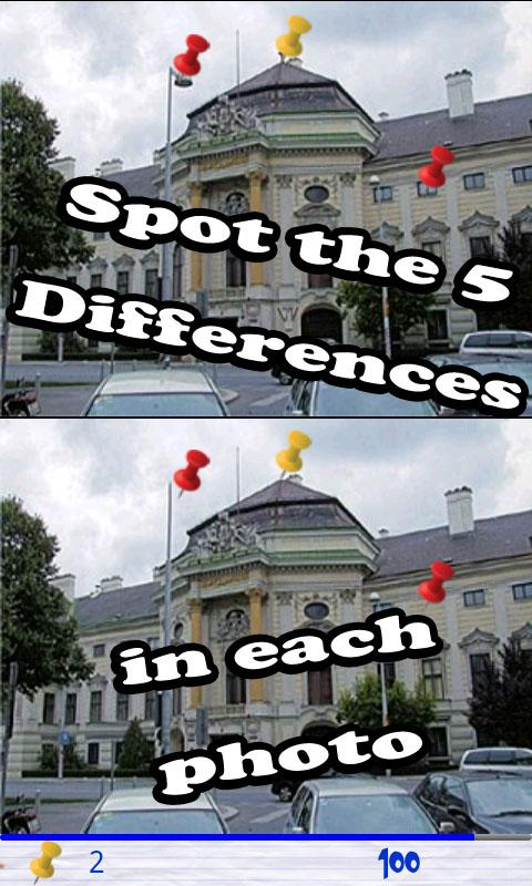 Find the differences - screenshot