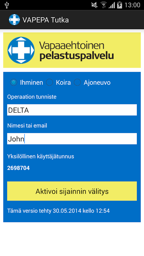 VAPEPA-Tutka - screenshot