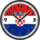 Croatia Clock icon
