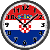 Croatia Clock