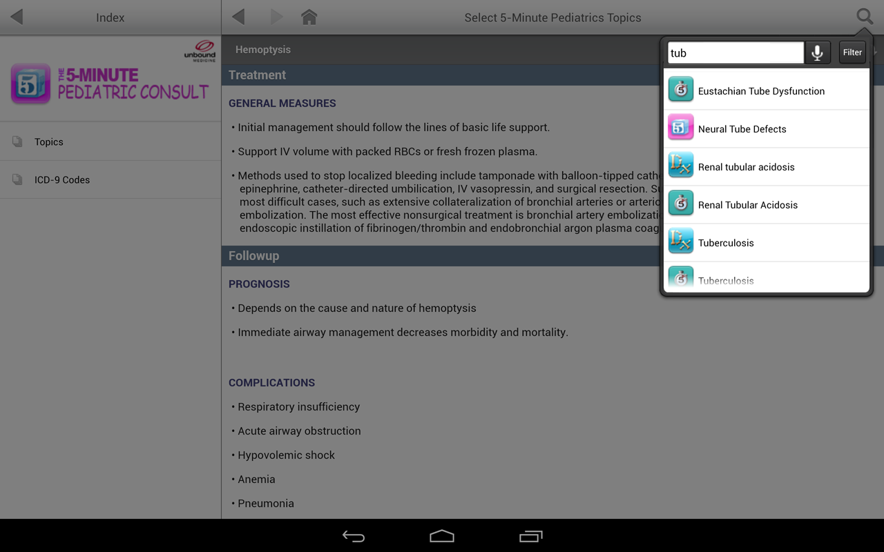 5-Minute Clinical Consult - screenshot