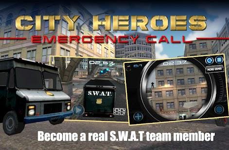 城市英雄緊急呼叫3D