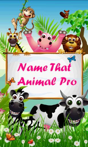 Name That Animal Pro
