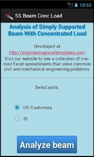 SS Beam Conc Load - screenshot thumbnail