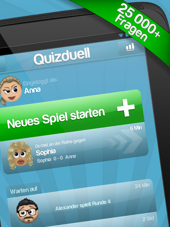 Quizduell - screenshot