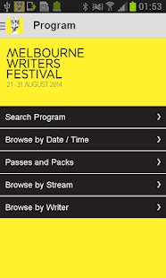 Melbourne Writers Festival - screenshot thumbnail