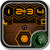 Graphene Orange GoLocker Theme
