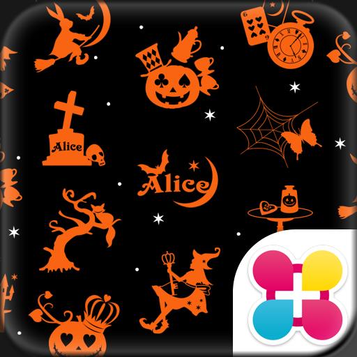 Alice in Halloween Land Theme Icon